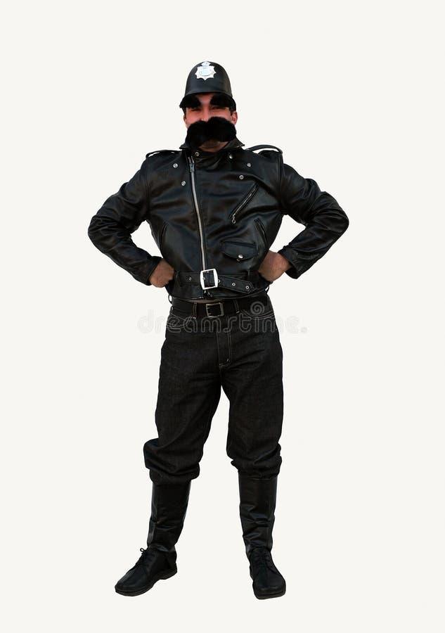 British Policeman Costume Stock Photos