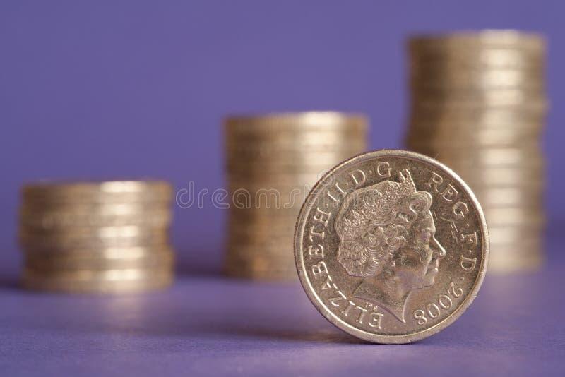 British Pound Royalty Free Stock Photography