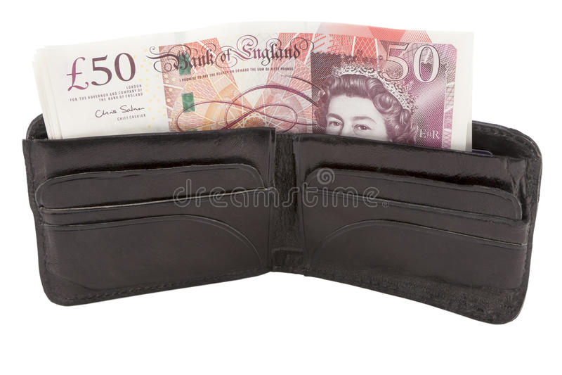 Download British Pound Sterling Banknote And Wallet Editorial Image - Image: 25692875