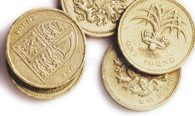 British pounds stock photos