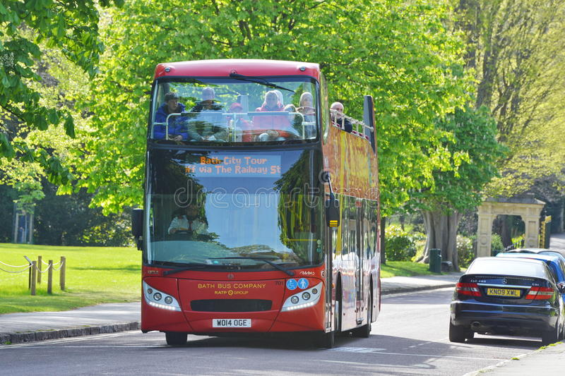British Red Bus royalty free stock images