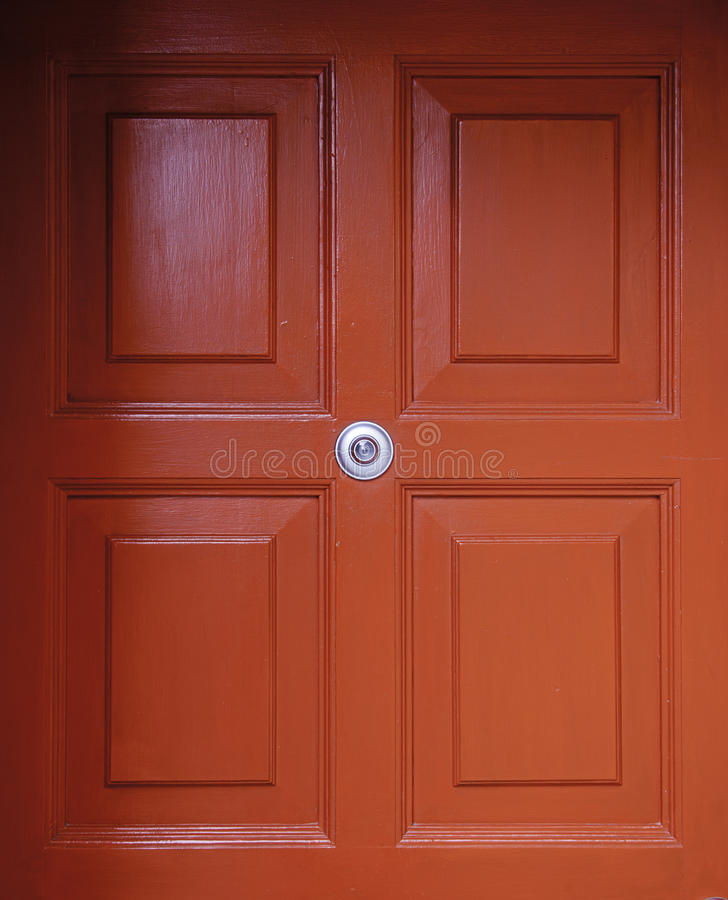 British Red Door Royalty Free Stock Photos