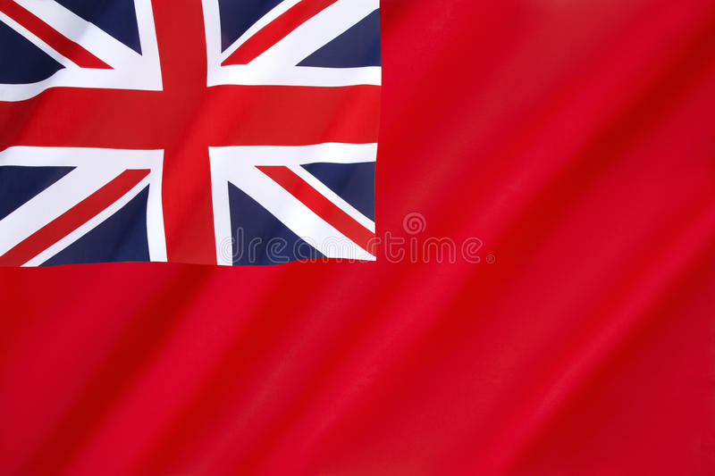 British Red Ensign royalty free stock photo