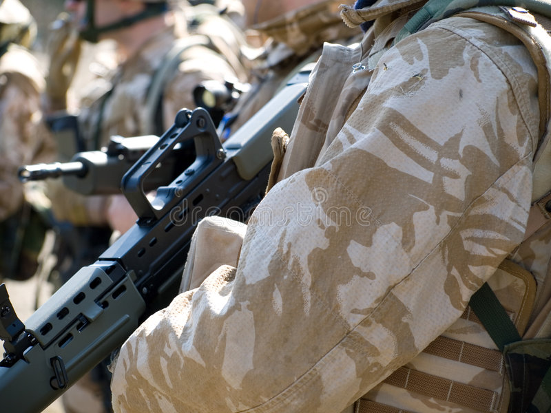 Download British Royal Commando stock photo. Image of forces, weapon - 8757836