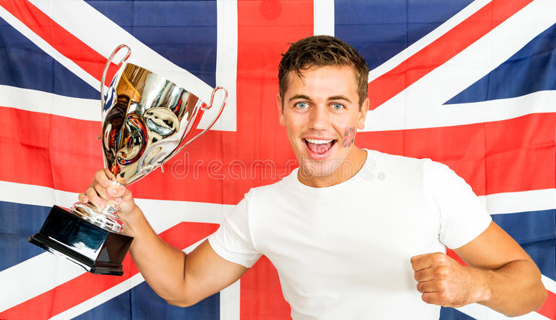Download British Sports fan stock image. Image of britain, blue - 33372179