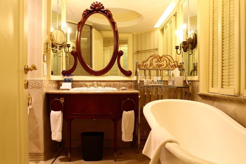 British style bathroom stock image. Image of accommodation ...