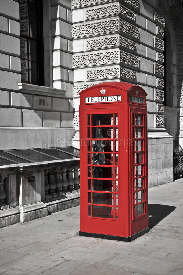 Download British telephone booth stock photo. Image of attraction - 28948314