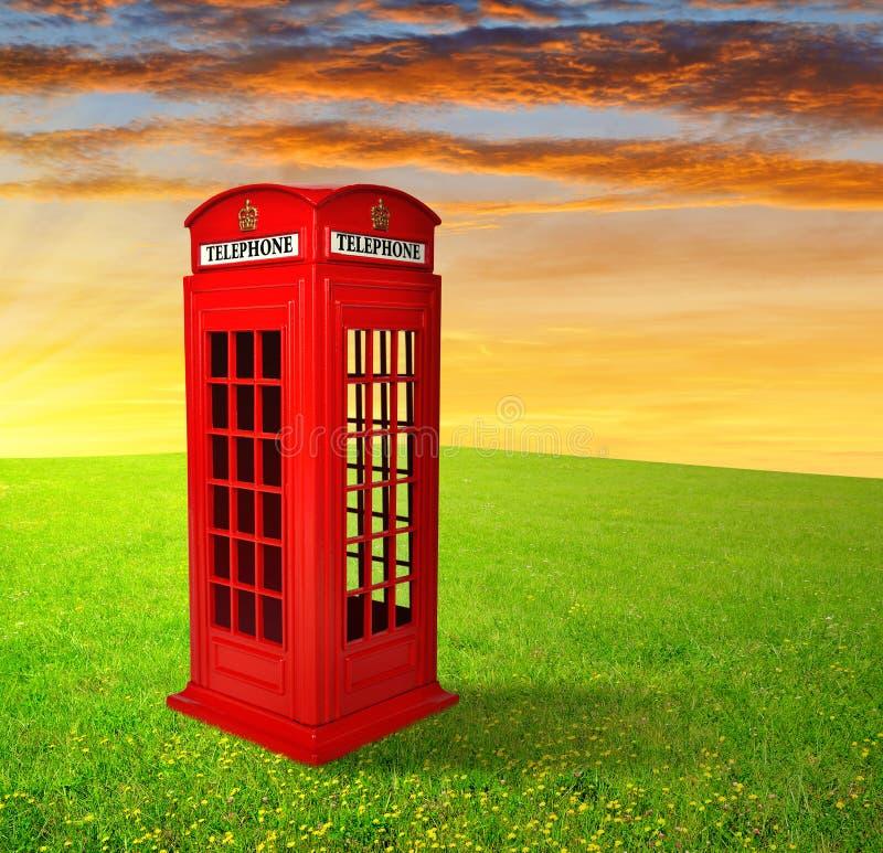 Download British telephone box stock image. Image of public, nature - 39239773