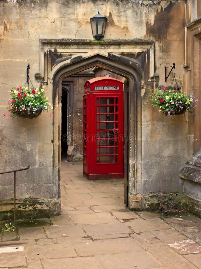 British Telephone Red Box Stock Images