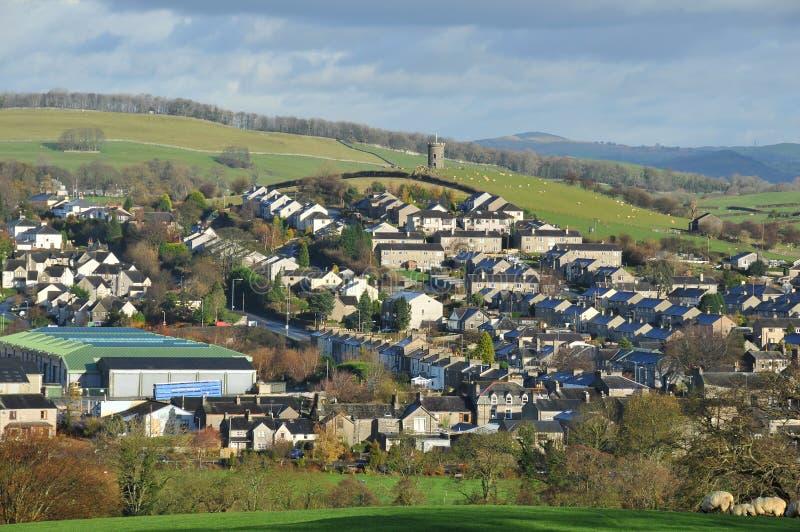 British Town stock image