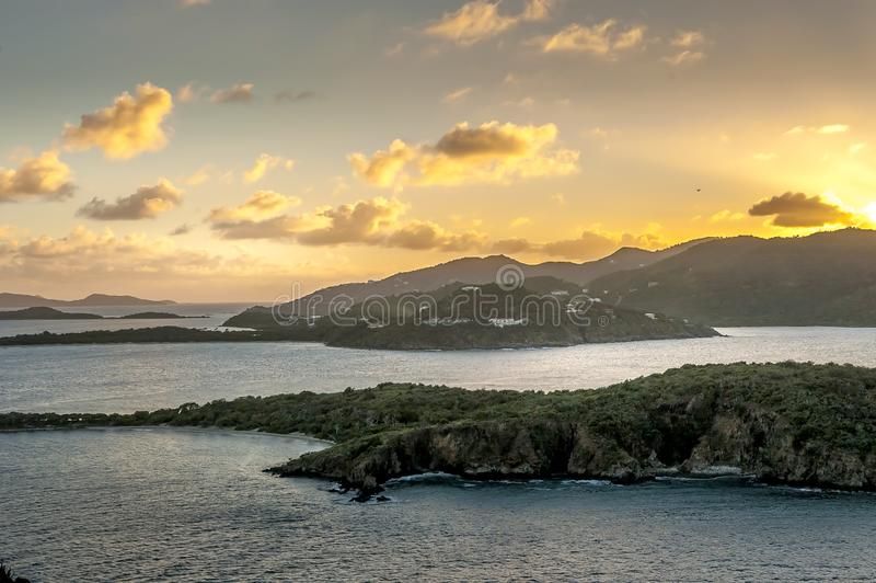 British Virgin Islands Caribbean Scenic View royalty free stock images