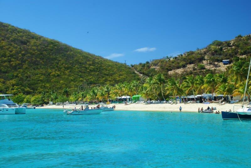 British Virgin Islands, dólar empapado imagenes de archivo