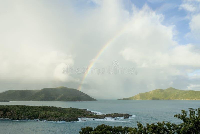 British Virgin Islands Rainbow royalty free stock photos