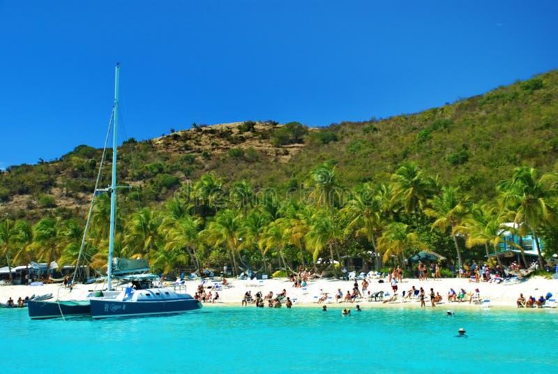 British Virgin Islands, Soggy Dollar royalty free stock image