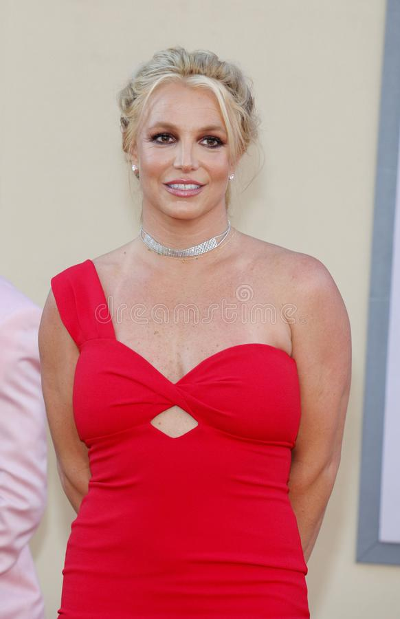 Britney Spears 免版税图库摄影