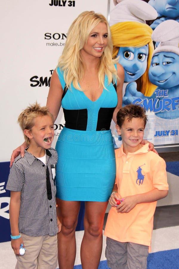 Britney Spears, SEAN PRESTON imágenes de archivo libres de regalías