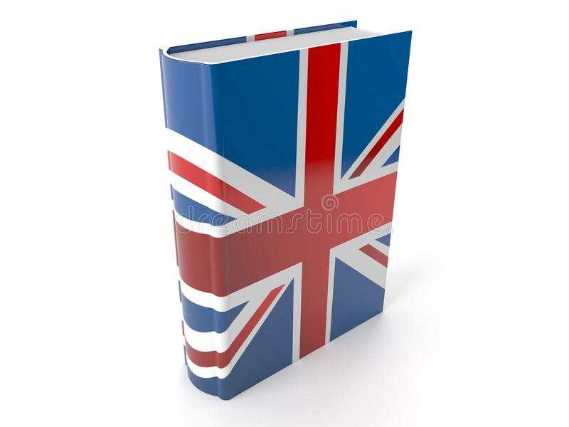 Brits boek royalty-vrije illustratie