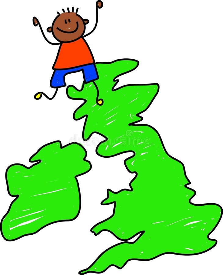 Brits jong geitje royalty-vrije illustratie