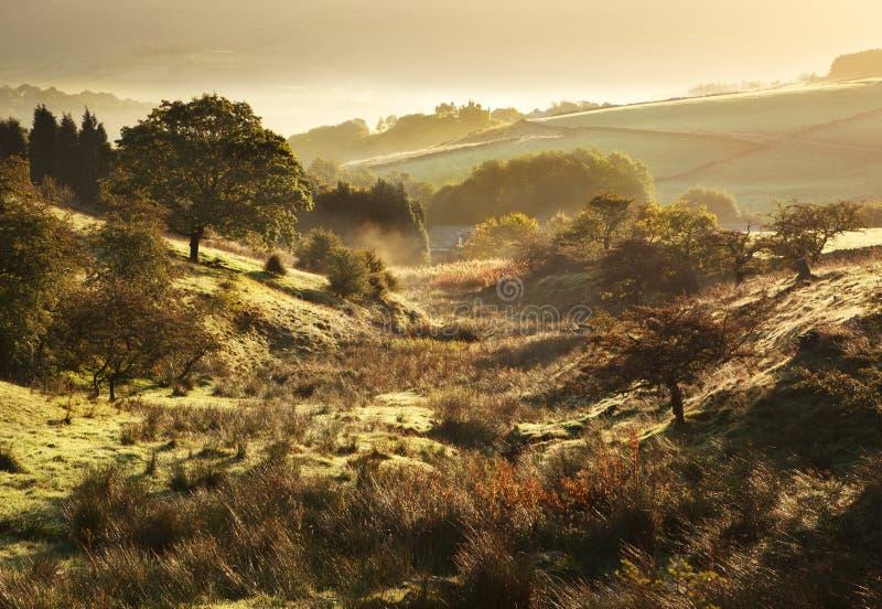 Brits landschap royalty-vrije stock foto