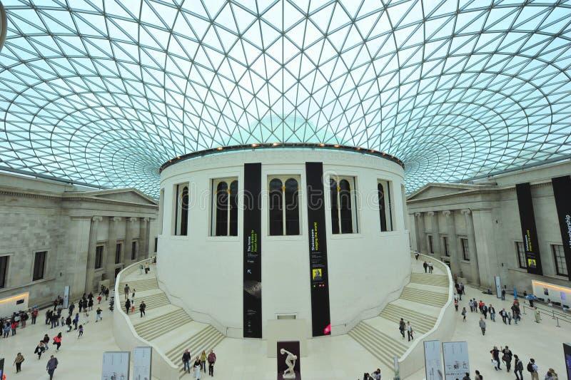 Brits museum stock afbeeldingen