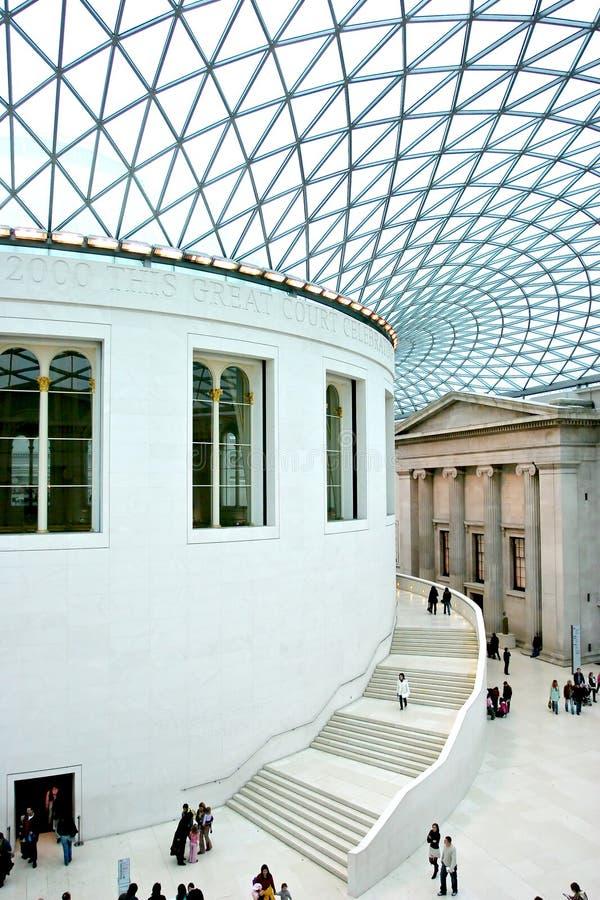 Brits museum stock fotografie