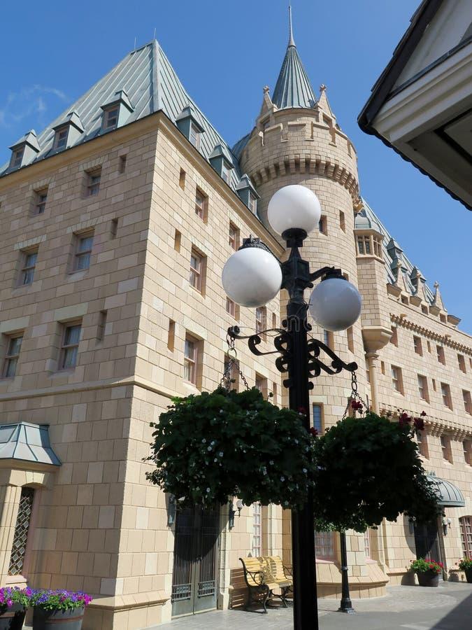 Brits Paviljoen bij de Wereldshowcase op Epcot-Centrum stock foto's