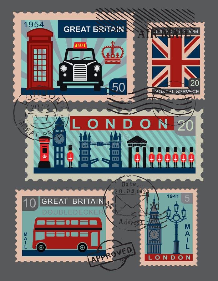 Brits pictogram vector illustratie