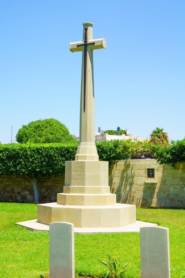 Britse Begraafplaats, Haifa royalty-vrije stock foto