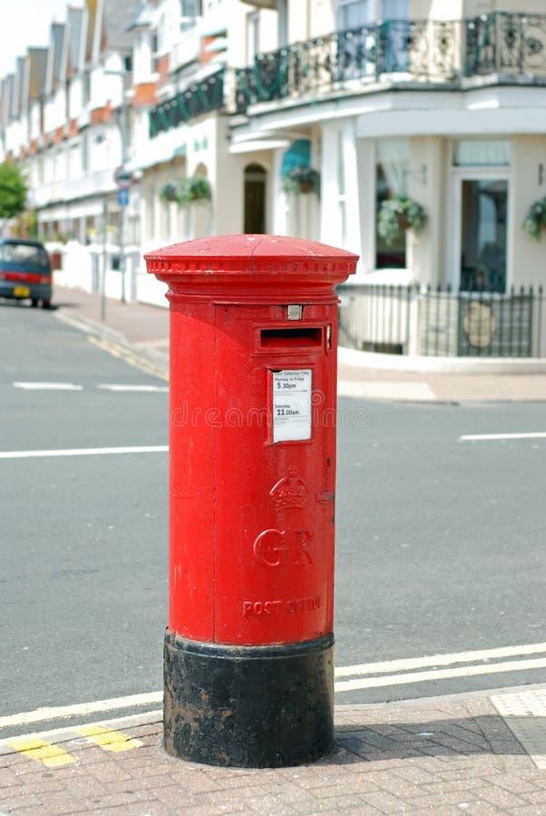 Britse brievenbus stock afbeelding