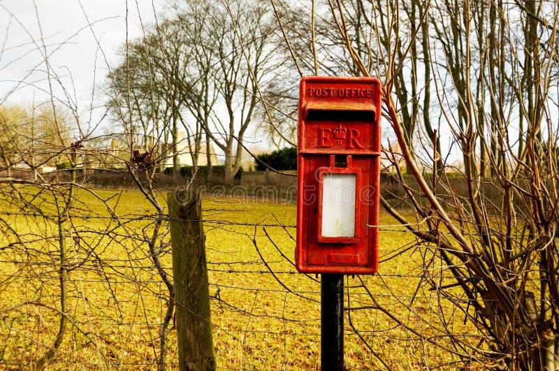 Britse brievenbus stock foto's