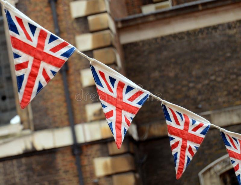 Britse Bunting stock afbeelding
