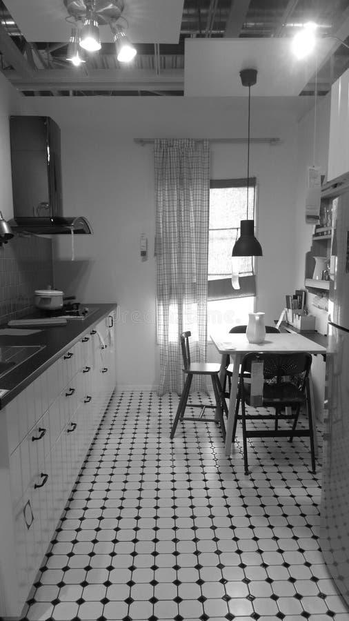 Britse Klassieke Keuken stock afbeeldingen