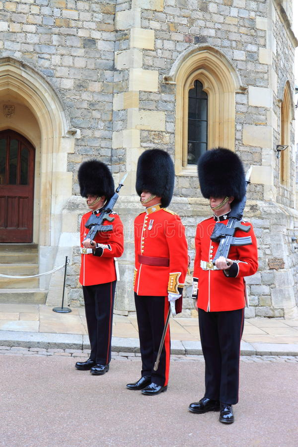 Britse Koninklijke Wacht royalty-vrije stock foto's