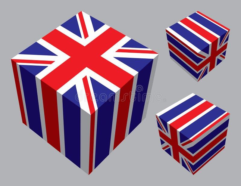Britse Kubussen royalty-vrije illustratie