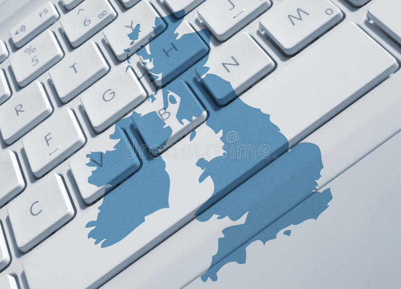 Britse mededelingen royalty-vrije illustratie