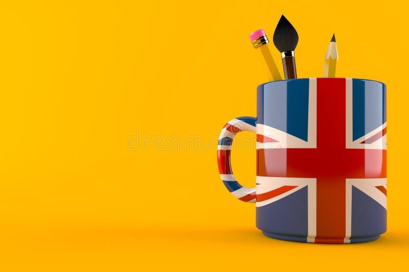 Britse mok vector illustratie