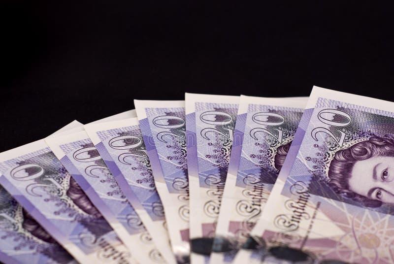 Britse ponden royalty-vrije stock afbeelding