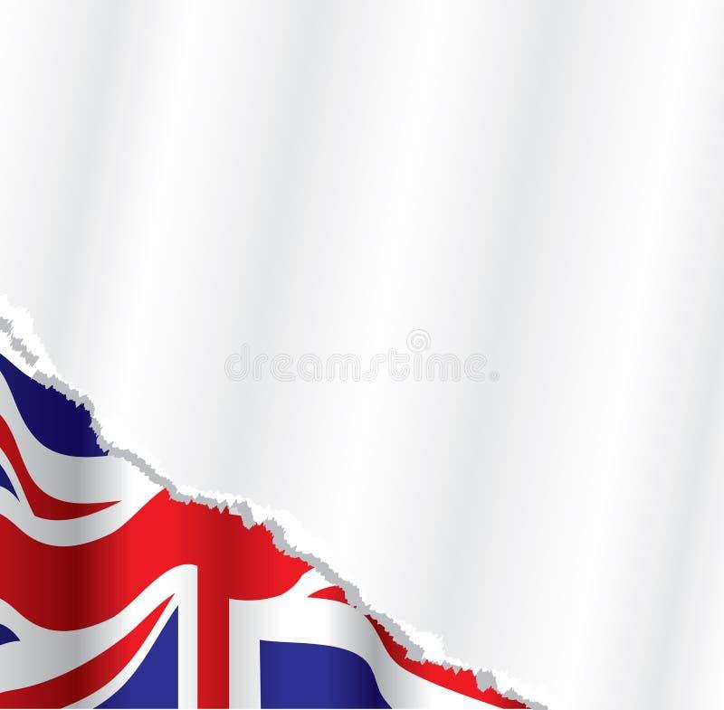 Britse vlagachtergrond