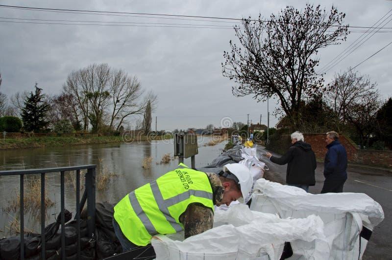 2014 Britse Vloed Burrowbridge