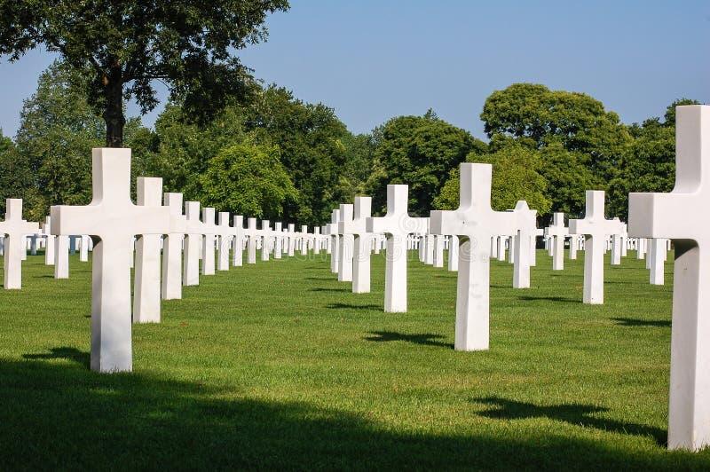 Brittany American Cemetery et mémorial photos stock