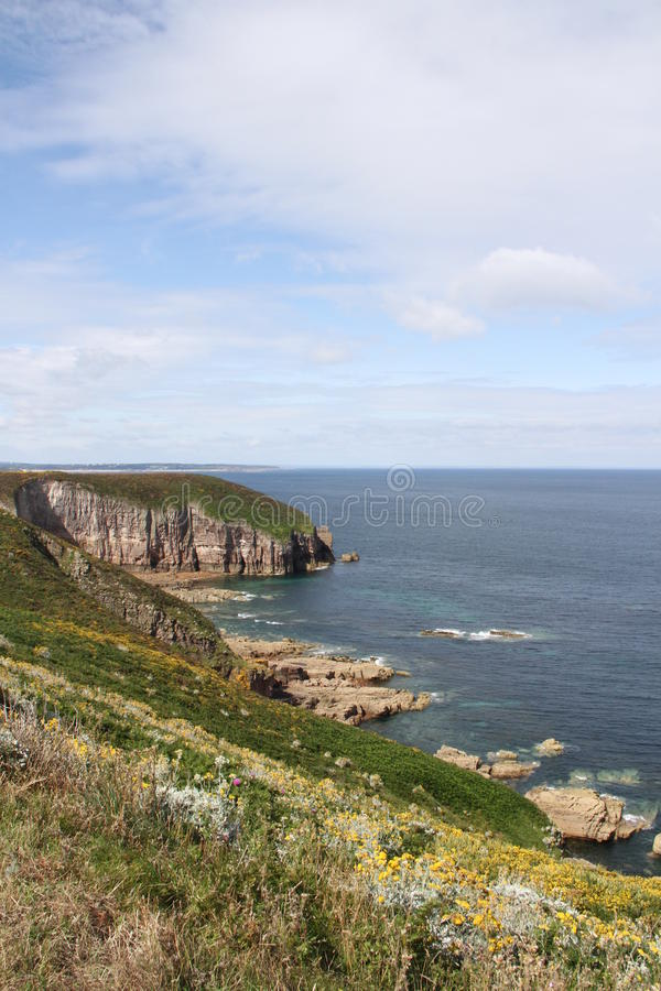 Download Brittany coast stock image. Image of cliffs, brittany - 25785795