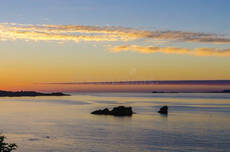 Brittany coast royalty free stock photo
