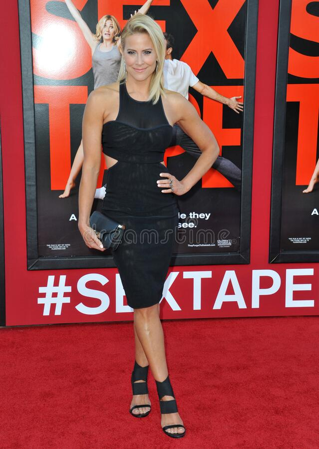 Brittany Daniel. LOS ANGELES, CA - JULY 10, 2014: Brittany Daniel at the world premiere of \'Sex Tape\' at the Regency Village Theatre, Westwood royalty free stock photography