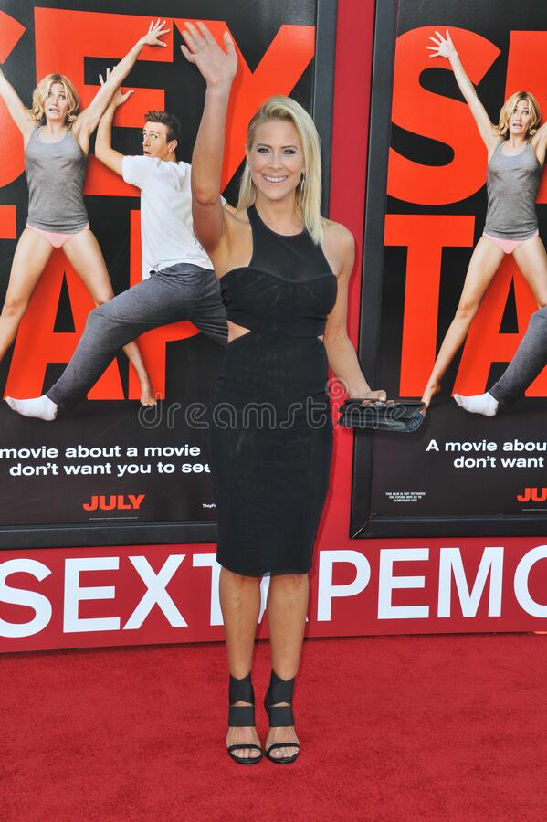 Brittany Daniel. LOS ANGELES, CA - JULY 10, 2014: Brittany Daniel at the world premiere of \'Sex Tape\' at the Regency Village Theatre, Westwood stock image