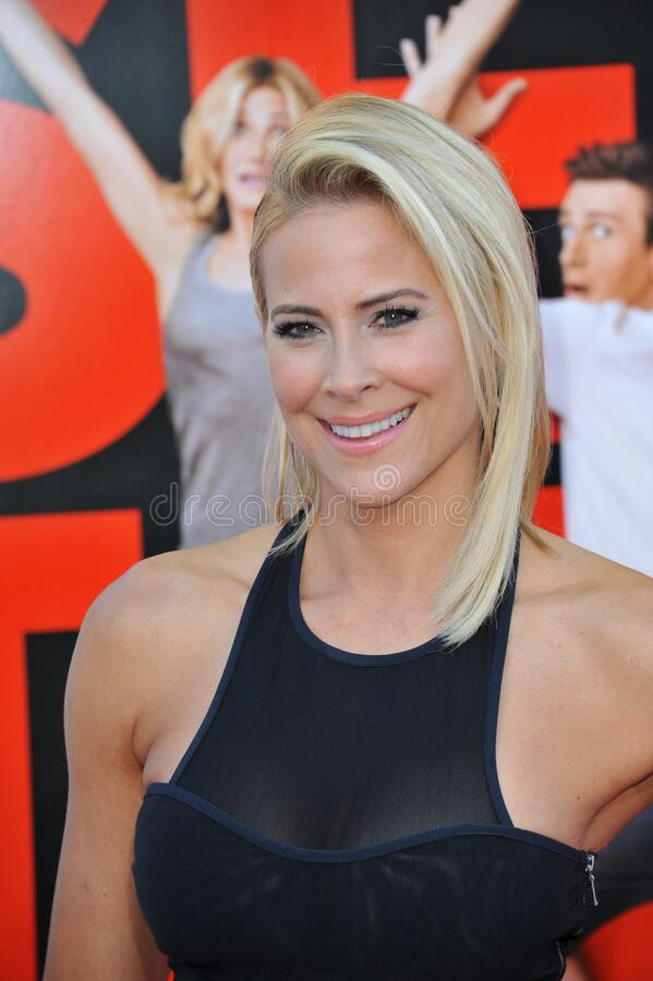 Brittany Daniel. LOS ANGELES, CA - JULY 10, 2014: Brittany Daniel at the world premiere of \'Sex Tape\' at the Regency Village Theatre, Westwood royalty free stock photo