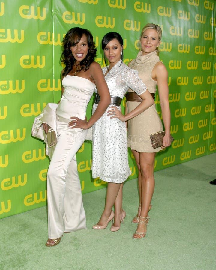 Brittany Daniel, Tia Mowry, Wendy Raquel Robinson foto de stock