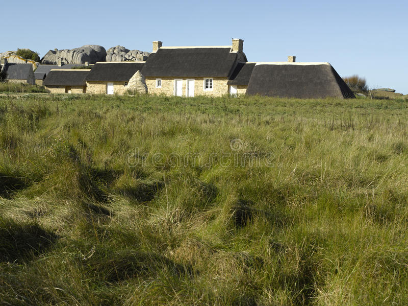 Download Brittany, Finistere, Kerlouan - Traditional House Stock Image - Image: 11633533