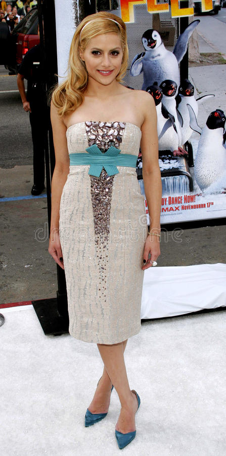 Brittany Murphy photographie stock libre de droits