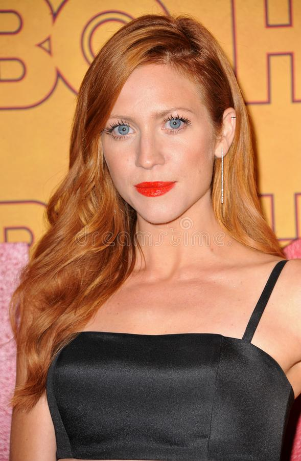 Brittany Snow photographie stock