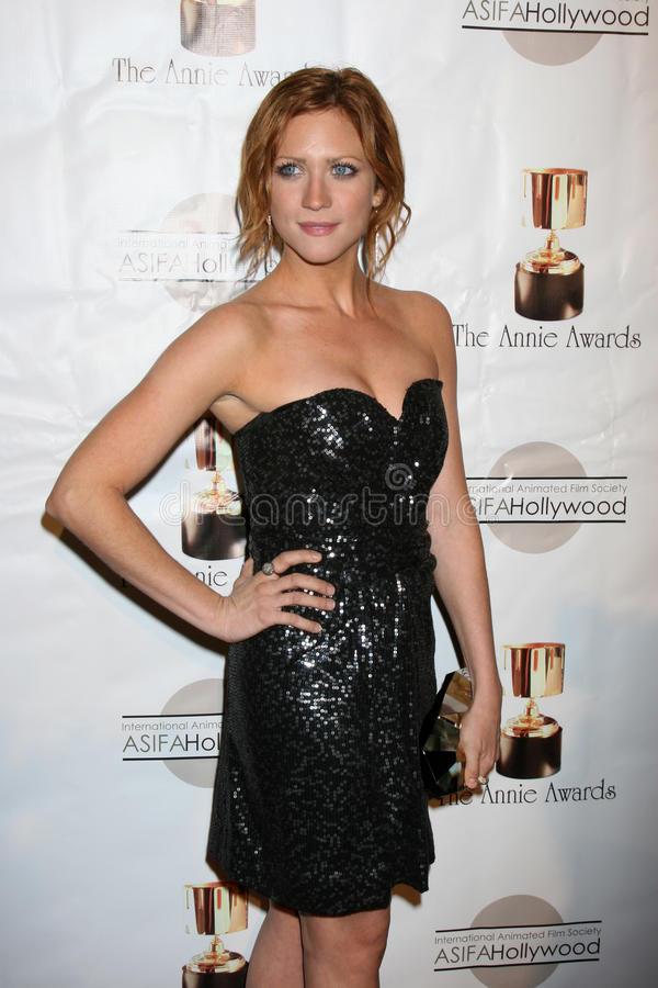Download Brittany Snow editorial image. Image of hall, brittany - 23278775